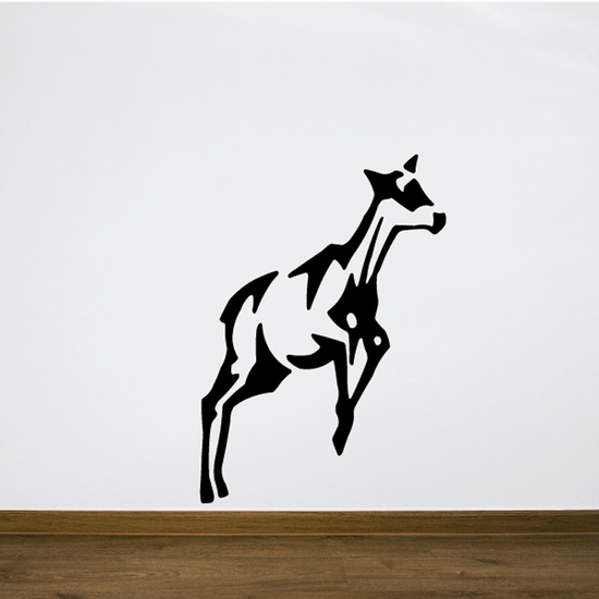 Jumping Goat Decal