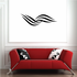 Tribal Pinstripe Wall Decal - Vinyl Decal - Car Decal - 162