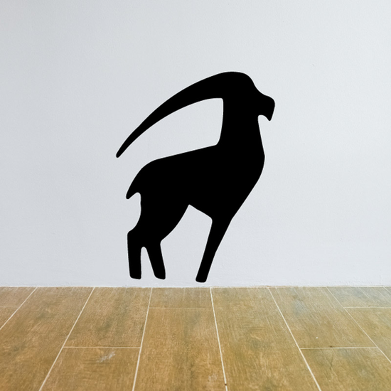 Minimal Abstract Proud Goat Decal