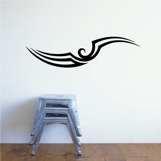 Tribal Pinstripe Wall Decal - Vinyl Decal - Car Decal - 164