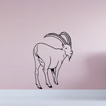 Looking Back Goat Decal