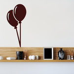 Double Party Balloons Decal