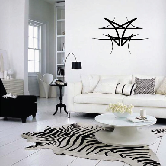 Tribal Pinstripe Wall Decal - Vinyl Decal - Car Decal - 172