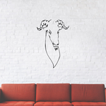 Bharal Goat Head Decal