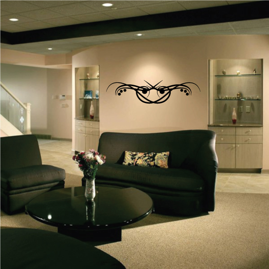 Tribal Pinstripe Wall Decal - Vinyl Decal - Car Decal - 173