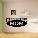Firefighters Mom Decal