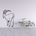 Looking Back Ibex Decal