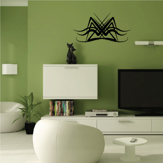 Tribal Pinstripe Wall Decal - Vinyl Decal - Car Decal - 178