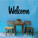 Welcome Wall Decal - Vinyl Decal - Car Decal - Business Sign - MC709