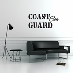 Coast Guard Son Decal