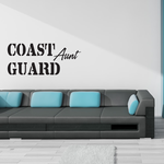 Coast Guard Aunt Decal