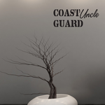Coast Guard Uncle Decal