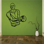 Basketball Wall Decal - Vinyl Decal - Car Decal - CDS031