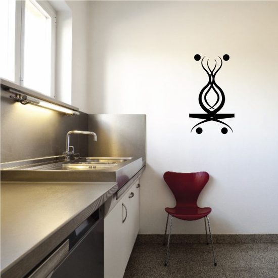 Tribal Pinstripe Wall Decal - Vinyl Decal - Car Decal - 184
