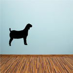 Nubian Goat Silhouette Decal