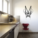 Tribal Pinstripe Wall Decal - Vinyl Decal - Car Decal - 190