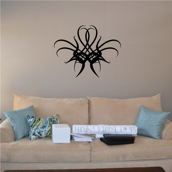 Tribal Pinstripe Wall Decal - Vinyl Decal - Car Decal - 198