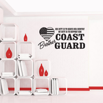 His Duty Brother Coast Guard Decal