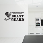 Her Duty Brother Coast Guard Decal