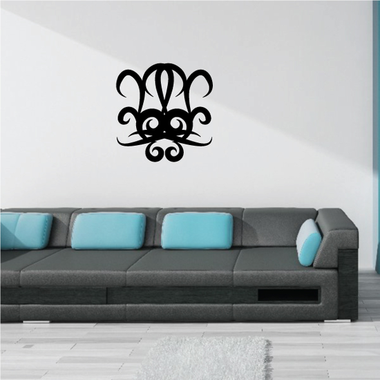 Tribal Pinstripe Wall Decal - Vinyl Decal - Car Decal - 204
