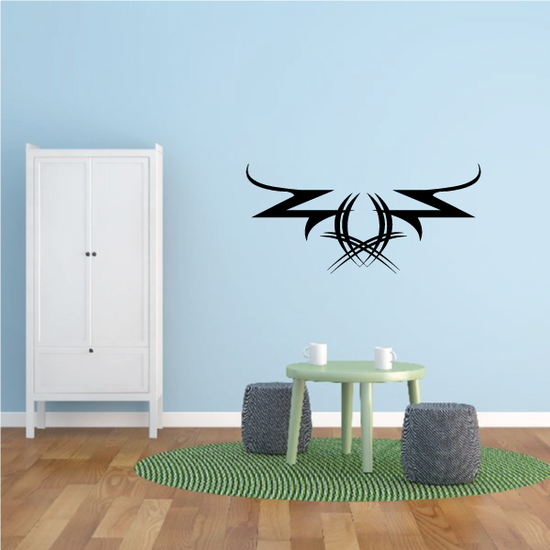 Tribal Pinstripe Wall Decal - Vinyl Decal - Car Decal - 209