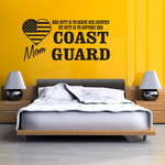 Her Duty Mom Coast Guard Decal