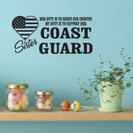 Her Duty Sister Coast Guard Decal