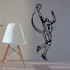 Basketball Action Lines Alley-oop Player Decal