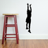Basketball Leaping Catch Jump Decal