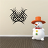 Tribal Pinstripe Wall Decal - Vinyl Decal - Car Decal - 233