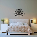 Tribal Pinstripe Wall Decal - Vinyl Decal - Car Decal - 235