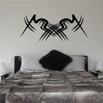 Tribal Pinstripe Wall Decal - Vinyl Decal - Car Decal - 239