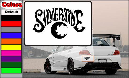 silvertide Decal