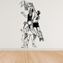 Basketball Wall Decal - Vinyl Decal - Car Decal - Bl034