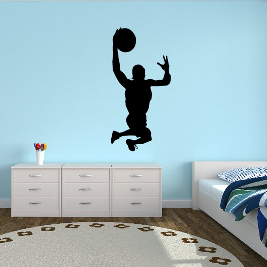 Basketball Perspective Dunk Decal