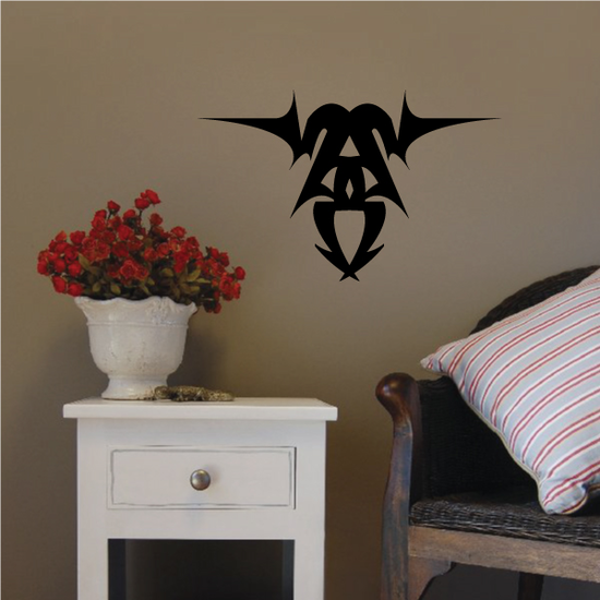 Tribal Pinstripe Wall Decal - Vinyl Decal - Car Decal - 262