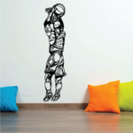 Basketball Wall Decal - Vinyl Decal - Car Decal - CDS071