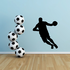 Driving To The Hole Basketball Wall Decal - Vinyl Decal - Car Decal - 001