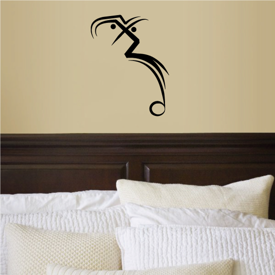 Tribal Pinstripe Wall Decal - Vinyl Decal - Car Decal - 274