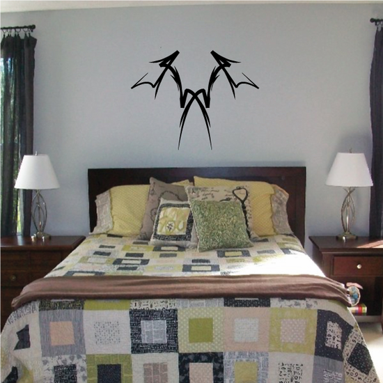 Tribal Pinstripe Wall Decal - Vinyl Decal - Car Decal - 275