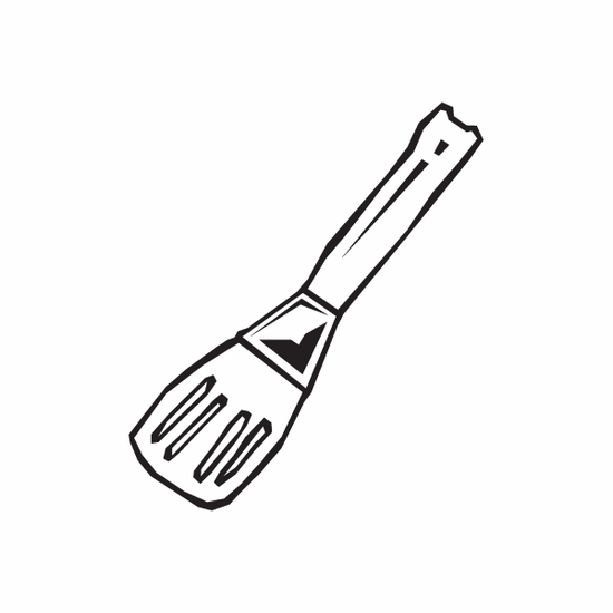 Cooking Spatula Decal
