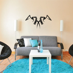 Tribal Pinstripe Wall Decal - Vinyl Decal - Car Decal - 286