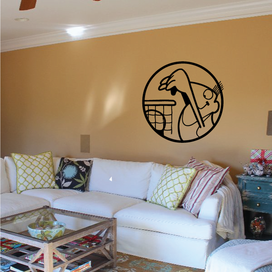Basketball Wall Decal - Vinyl Decal - Car Decal - Bl042