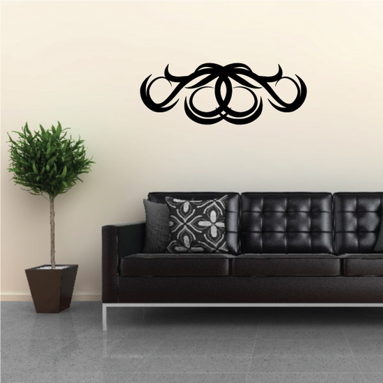 Tribal Pinstripe Wall Decal - Vinyl Decal - Car Decal - 296
