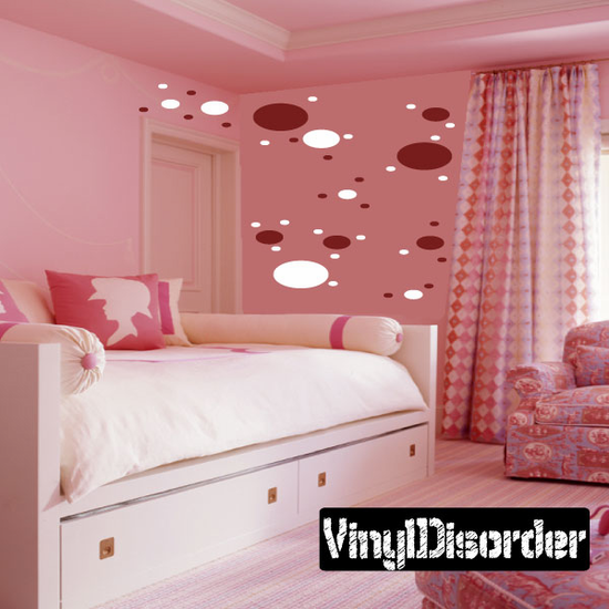 Oval Wall Decals Kit