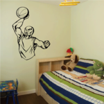 Basketball Wall Decal - Vinyl Decal - Car Decal - CDS158