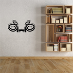 Tribal Pinstripe Wall Decal - Vinyl Decal - Car Decal - 300