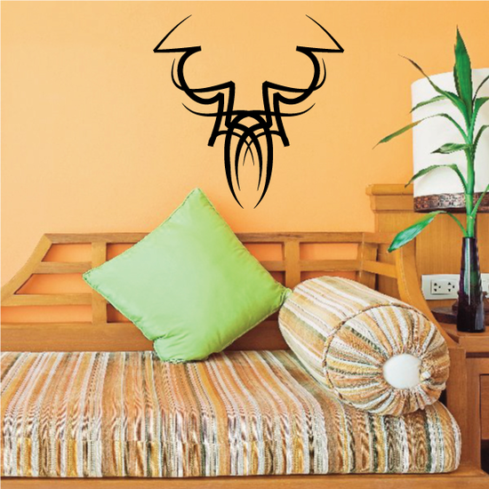Tribal Pinstripe Wall Decal - Vinyl Decal - Car Decal - 302