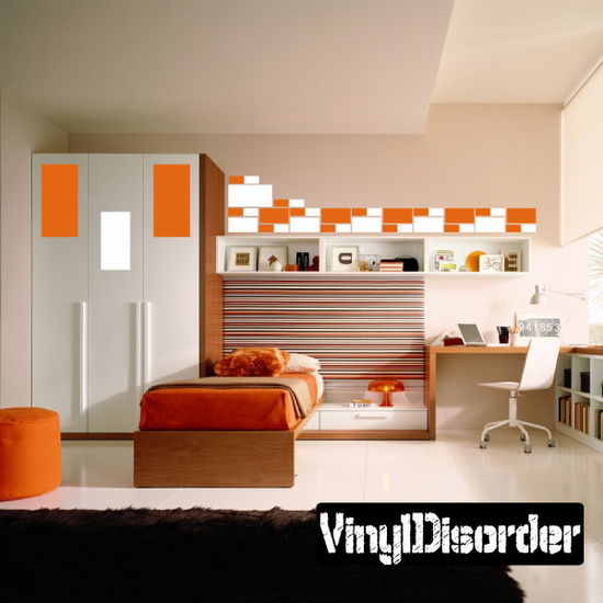 Rectangle Wall Decals Kit