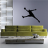 Basketball Lunging Dunk Decal